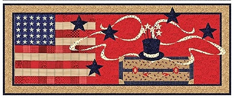 Fourth of July Table Runner Kit-0