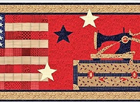 American Quilter Table Runner Kit-0