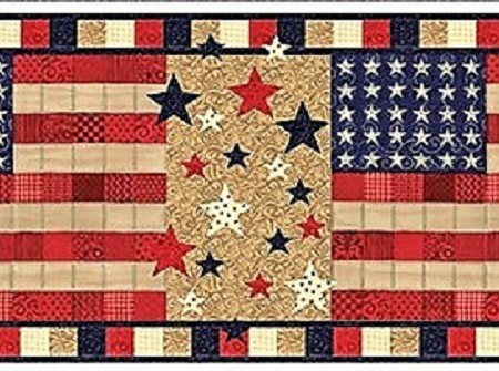 Stars & Stripes Table Runner Kit-0