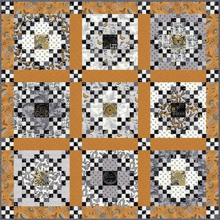 Bee Inspired Quilt Kit-0
