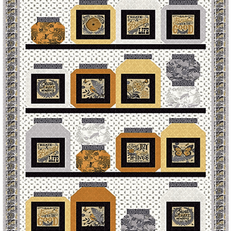 Bee Inspired #2 Quilt Kit-0