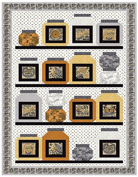 Bee Inspired #2 Quilt Kit-0