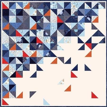 TRUE BLUE Quilt Kit-0