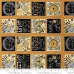 Bee Inspired Fabric Panel -0