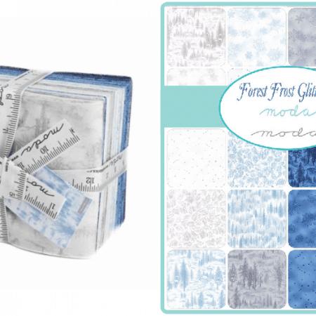Forest Frost Glitter II Fat Quarter Bundle-0