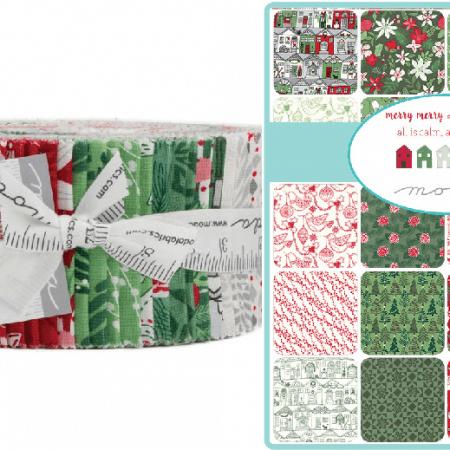 Merry Merry Moda Jelly Roll-0