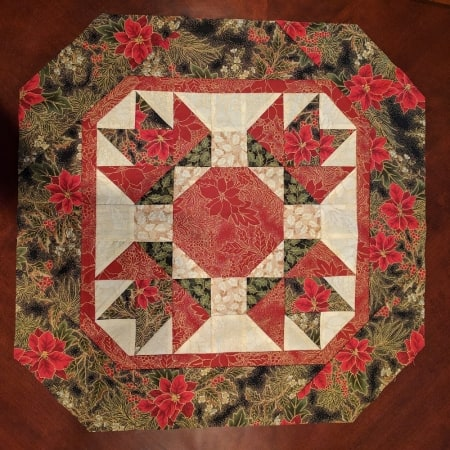 Winter Floral Quilt Kit-0