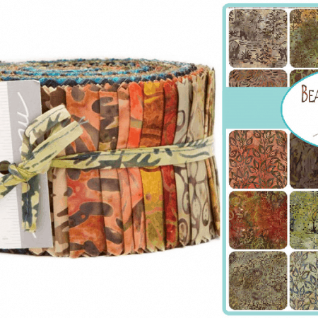 Bear Creek Batiks Moda Jelly Roll-0
