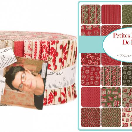 Petites Maisons De Noel Moda Jelly Roll-0