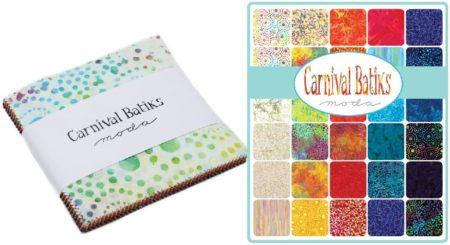 "Carnival Batiks 5"" Charm Pack-0"