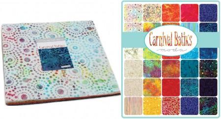 Carnival Batiks Layer Cakes-0