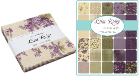 "Lilac Ridge 5"" Charm Pack-0"