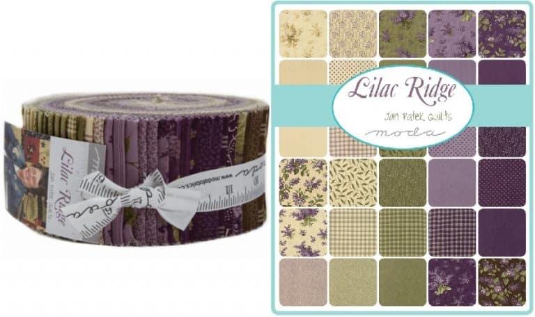 Lilac Ridge Moda Jelly Roll-0
