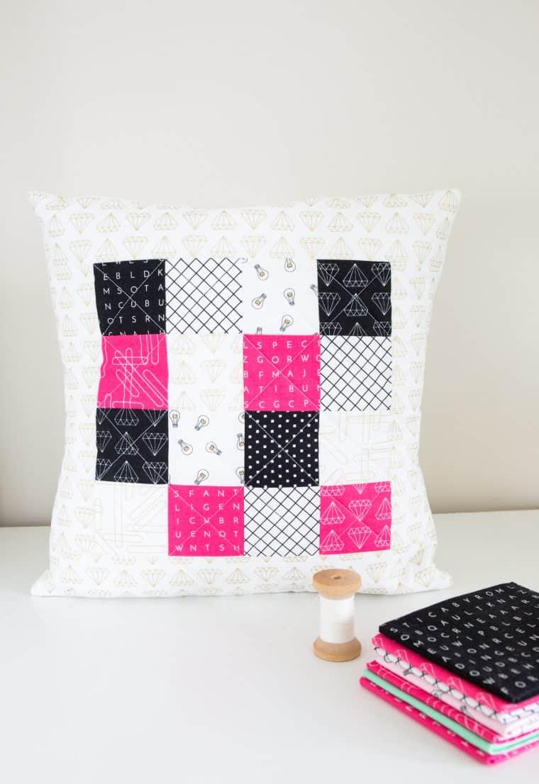 shine bright pillow