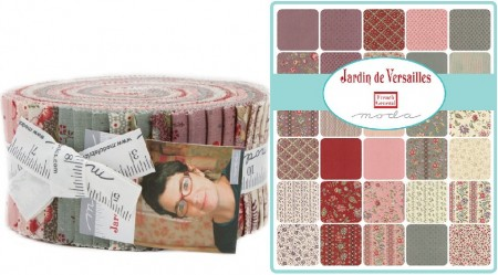 Jardin de Versaille Moda Jelly Roll-0