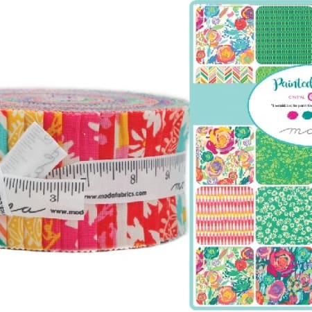 Painted Garden Moda Jelly Roll-0
