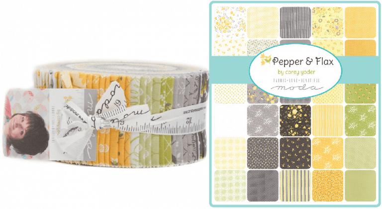 Pepper Flax Moda Jelly Roll-0