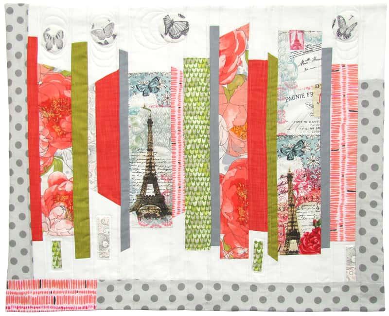 Springtime in Paris Quilt Project