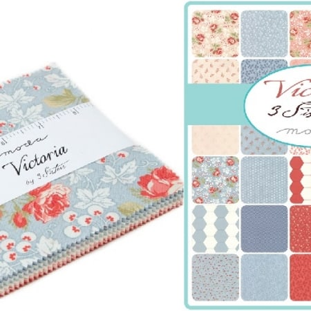"Victoria 5"" Charm Pack-0"