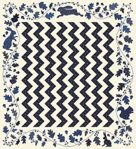 Morning Walk Quilt Pattern-0