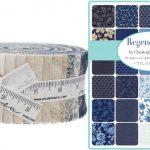 regency blue jelly roll - moda fabric