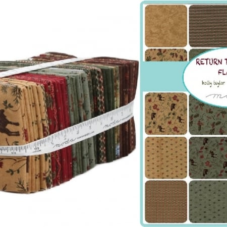 Return to Cub Lake Flannel Fat Quarter Bundle-0