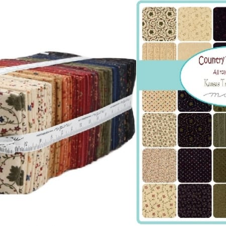 Country Road Flannel Fat Quarter Bundle-0