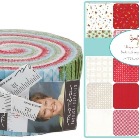 Good Tidings Moda Jelly Roll Fabric