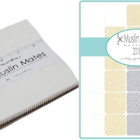 Muslin Mates Moda Fabric Charm Packs