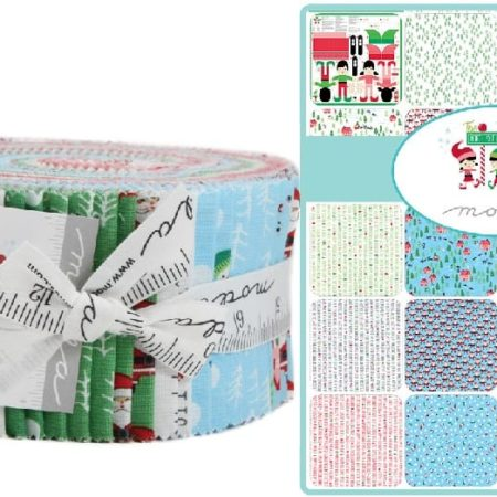 The North Pole Moda Jelly Roll