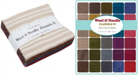 "Wool Needle VI 5"" Moda Charm Pack"