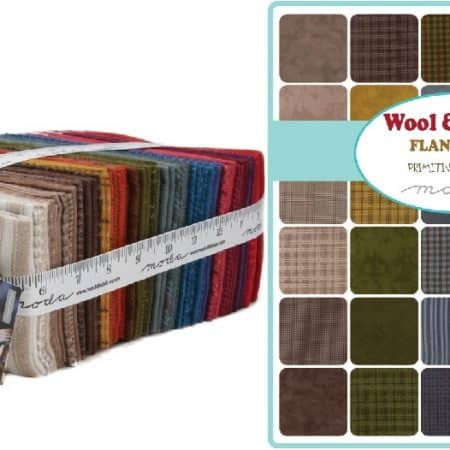 Wool Needle VI Flannel Fat Eighth Bundle 1/8