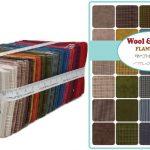 Wool Needle VI Moda Flannel Fat Quarter Bundle 1/4