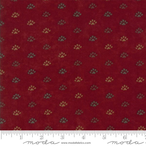 Return to Cub Lake Flannel - 6743 16F Old Red-0