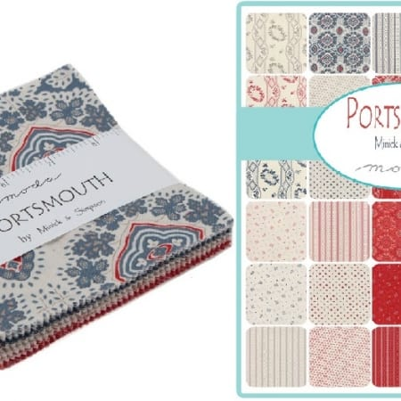 "Portsmouth 5"" Charm Pack-0"