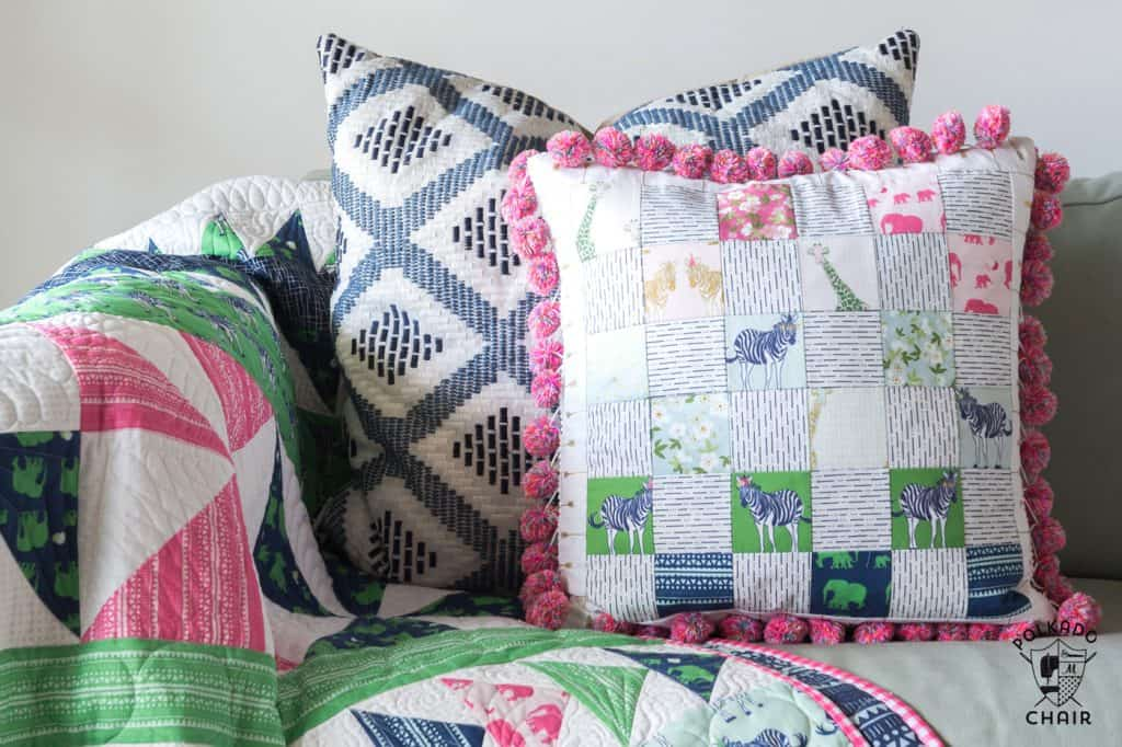 Patchwork Pillow Tutorial