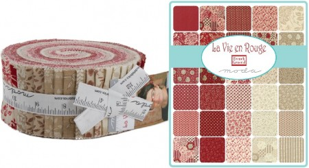 La Vie En Rouge Moda Jelly Roll-0