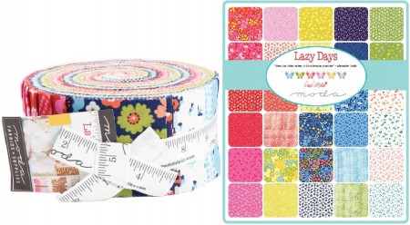 Lazy Days Moda Jelly Roll-0