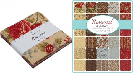 "Rosewood 5"" Charm Pack-0"