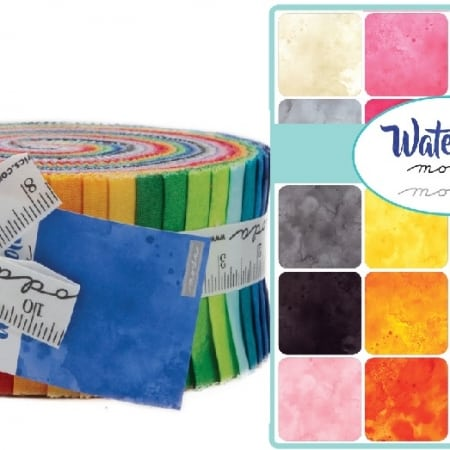 Watercolor Moda Jelly Roll-0