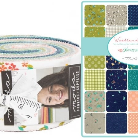 Woodland Secrets Moda Jelly Roll-0