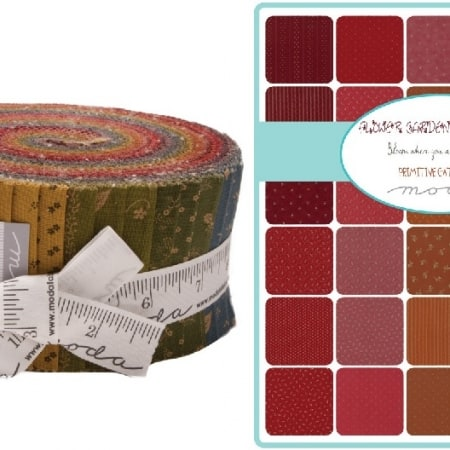 Flower Garden Gatherings Moda Jelly Roll-0