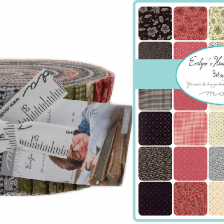 Evelyns Homestead Moda Jelly Roll-0