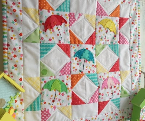 Springtime Showers Mini Quilt