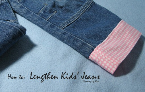 fabric alterations for kids jeans